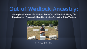 Out of Wedlock Ancestry