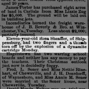 Harrisburg Telegraph Nov. 17 1892