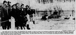 Sheaffer Family Farm on McCormicks Island 1936 Flood