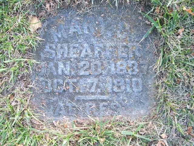 Mary C Steidler Headstone