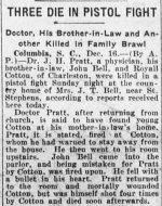 family-feud-3-dead-evening-public-ledger-phila-16-dec-1919-1st-edition-pg1